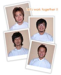 Let's work together!!